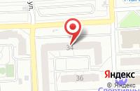 Схема проезда до компании Абс в Ижевске