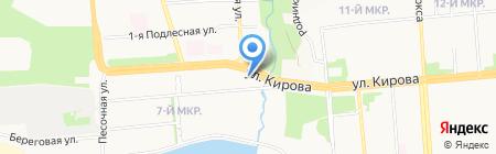 Beta на карте Ижевска