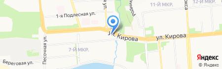 TAS Retail на карте Ижевска