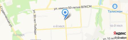 Банкомат АКБ Мособлбанк на карте Ижевска