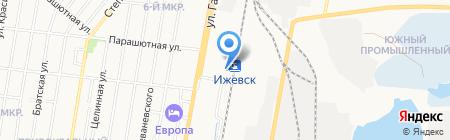 Экспресс на карте Ижевска