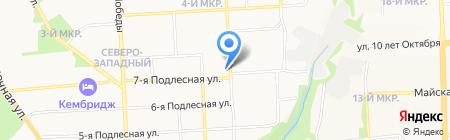 Запаска на карте Ижевска