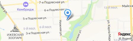 Свежторг на карте Ижевска