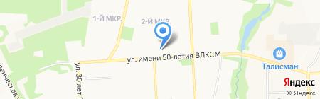 Ателье Феерик на карте Ижевска