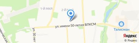 Пряжа из Троицка на карте Ижевска