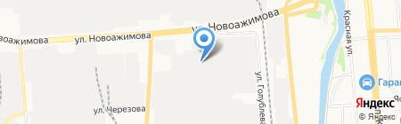 Нефтепром-Сервис на карте Ижевска