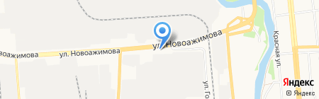 Кировчермет на карте Ижевска