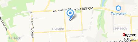 Продукты из глубинки на карте Ижевска