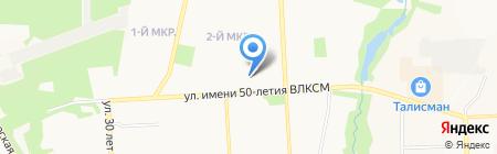 Зоотовары на карте Ижевска
