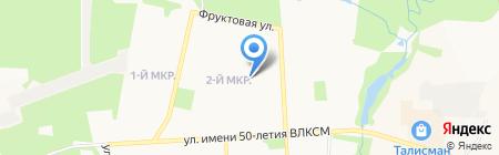 Детский сад №207 на карте Ижевска