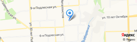 Фуршет на карте Ижевска