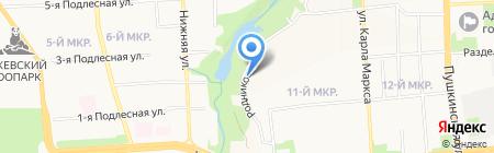 Адвокатская палата Удмуртской Республики на карте Ижевска