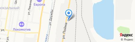 Аквацентр на карте Ижевска