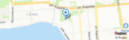 Звездный путь на карте Ижевска