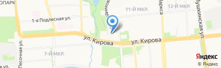 ЙогаШар на карте Ижевска
