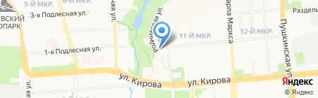Женская консультация на карте Ижевска