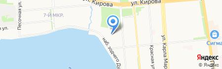 Автобосс на карте Ижевска