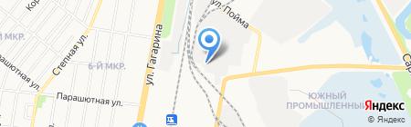 Корунд на карте Ижевска