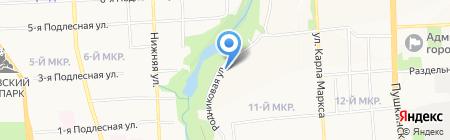 АвалонБрокер на карте Ижевска