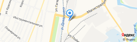 Шиномонтажная мастерская на карте Ижевска