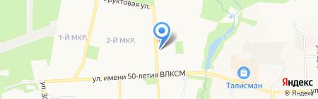 Металлург-3 на карте Ижевска