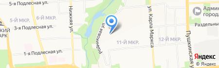 Октябрьский районный суд на карте Ижевска