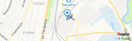 Нори на карте Ижевска