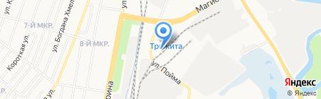 Ижлес на карте Ижевска