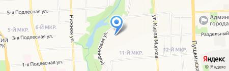 ЛанТел на карте Ижевска