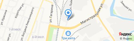 Магазин электротоваров на карте Ижевска