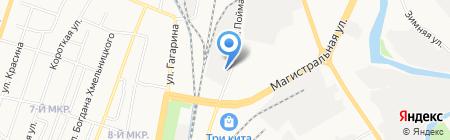 Цемент+ на карте Ижевска