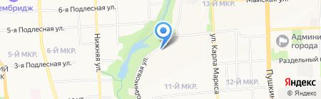 Лада Эстет на карте Ижевска