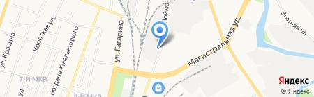 Автомойка на ул. Пойма на карте Ижевска