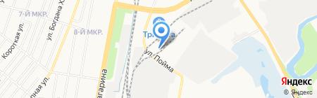 Айлант на карте Ижевска