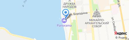 Веломикс на карте Ижевска