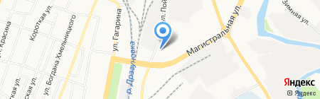 Титан на карте Ижевска