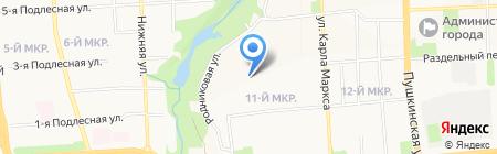 Участковый пункт полиции №9 на карте Ижевска