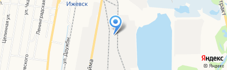 Альфа продукт на карте Ижевска