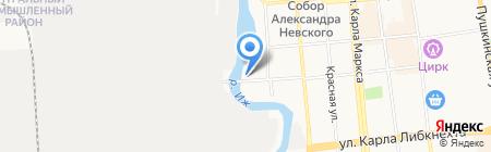 БОБ 18+ на карте Ижевска