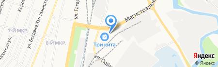 Лестничный марш на карте Ижевска