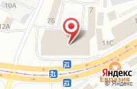 Схема проезда до компании ДверьЛенд в Ижевске