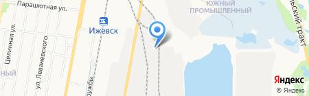 Агрокомфорт на карте Ижевска