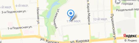 Ресурс на карте Ижевска