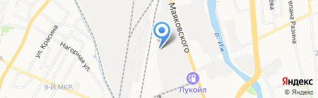 Kriolife на карте Ижевска