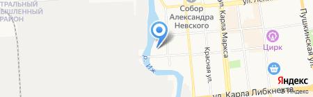 Два колеса на карте Ижевска