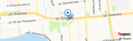 ВелоДрайв на карте Ижевска