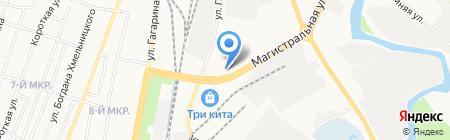 Успех на карте Ижевска