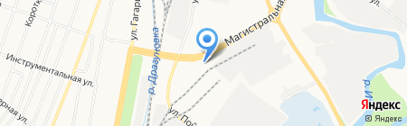Дверляндия на карте Ижевска