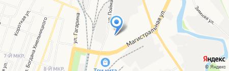 Семейный дом на карте Ижевска