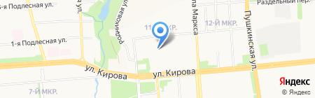 Техникум радиоэлектроники и информационных технологий на карте Ижевска